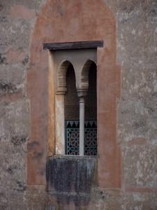 Ajimez (Ventana Geminada con parteluz) de la Torre de la Cautiva